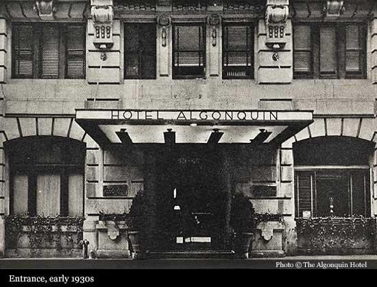 Algonquin Hotel New York