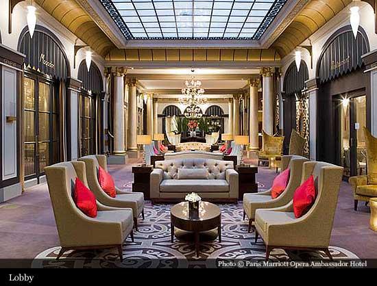 Paris Marriott Opera Ambassador Hotel 1927 Paris