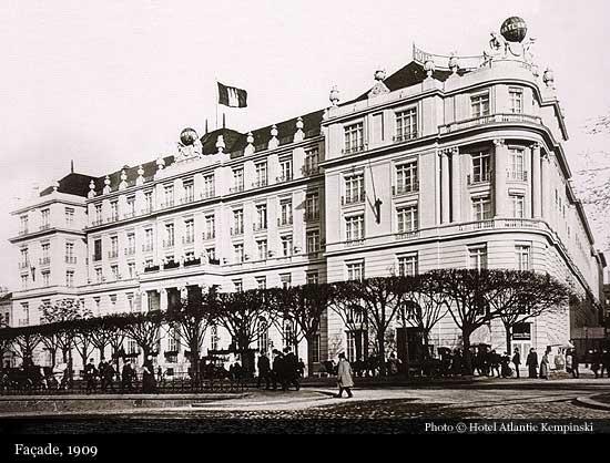 Hotel atlantic kempinski 1909 hamburg historic hotels for Coole hotels in hamburg