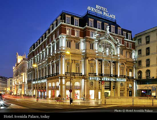 Slideshow Maker Avenida Palace Hotel The Only In Lisbon S