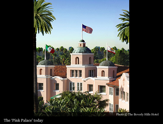 Slideshow Maker Affectionately Known As The Pink Palace Beverly Hills Hotel
