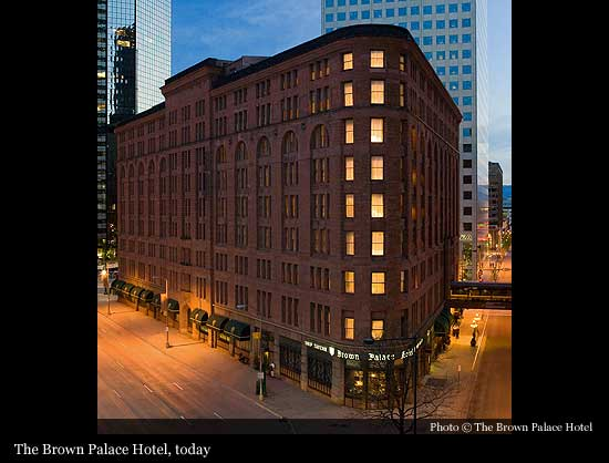 Brown Palace Hotel Phone Number