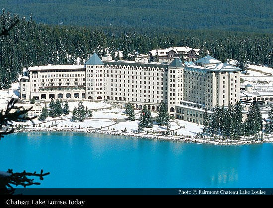 Fairmont Chateau Lake Louise 1890 Lake Louise Historic Hotels Of The World Then Now
