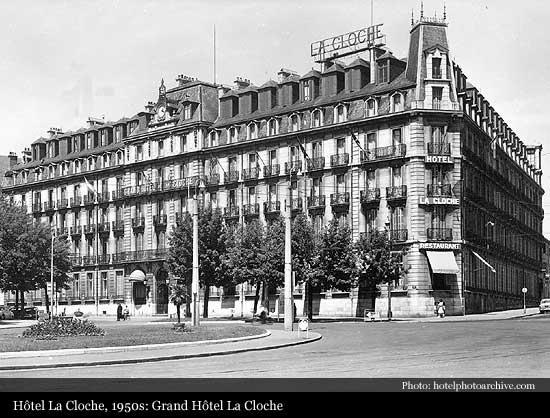 Grand Hotel La Cloche 1884 Dijon Historic Hotels Of The World Then Now