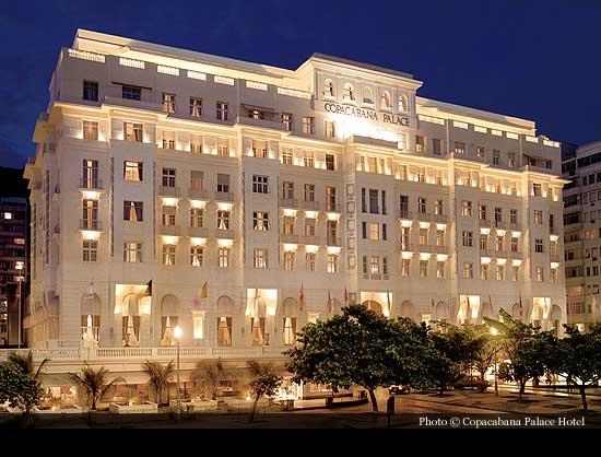Belmond Copacabana Palace 1923 Rio De Janeiro Historic Hotels Of The World Then Now