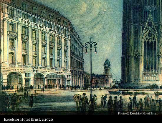 Excelsior Hotel Ernst  1863   Cologne