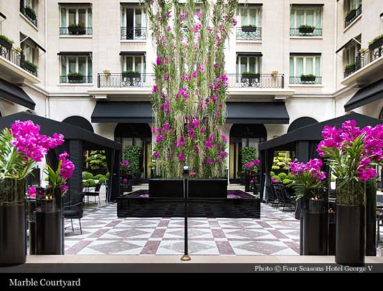 Four Seasons Hotel George V 1928 Paris Historic Hotels Of The World Then Now