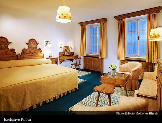 Hotel Goldener Hirsch 1671 Salzburg Historic Hotels