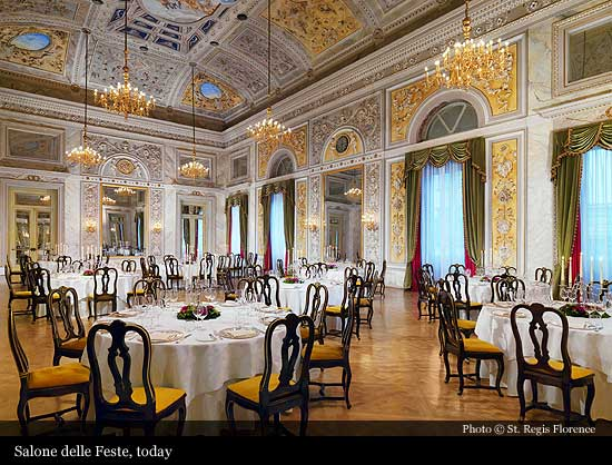 St Regis Florence 1866 Florence Historic Hotels Of The World Then Now