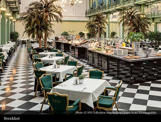 Nh Collection Amsterdam Grand Hotel Krasnapolsky 1883 Amsterdam Historic Hotels Of The World Then Now