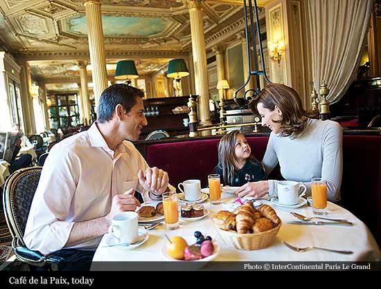 Intercontinental Paris Le Grand 1862 Paris Historic Hotels Of The World Then Now