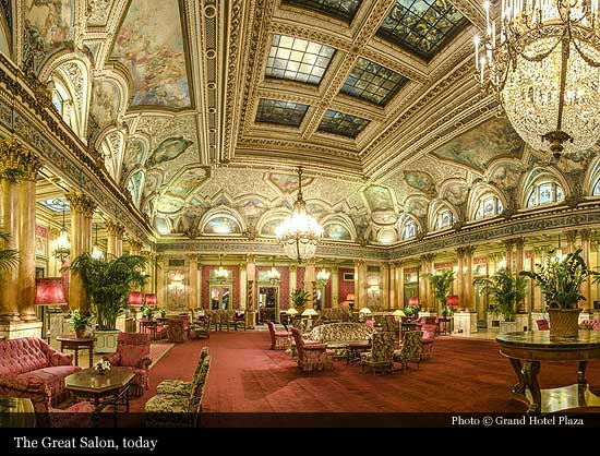 Grand Hotel Plaza 1860 Rome Historic Hotels Of The World Then Now