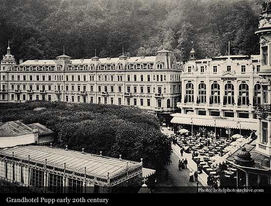 Grandhotel Pupp 1701 Karlovy Vary Historic Hotels Of The World Then Now