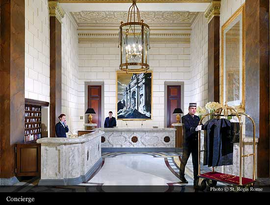 St Regis Rome 1894 Rome Historic Hotels Of The World Then Now