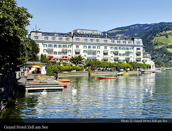 Grand Hotel Zell Am See 1896 Zell Am See Historic Hotels Of The World Then Now