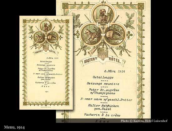 Kastens Hotel Luisenhof 1856 Hanover Historic Hotels Of