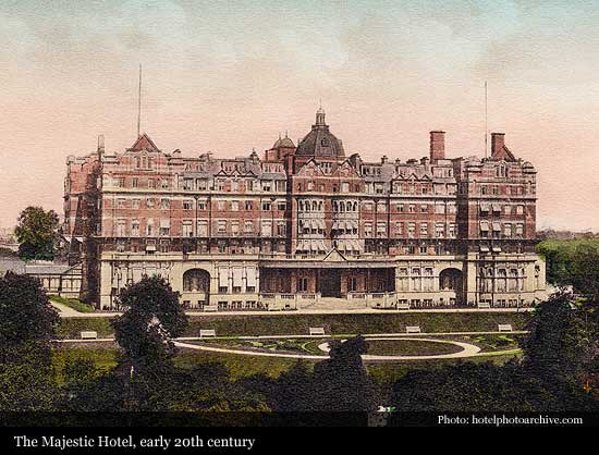 The Majestic Hotel 1900 Harrogate Historic Hotels Of