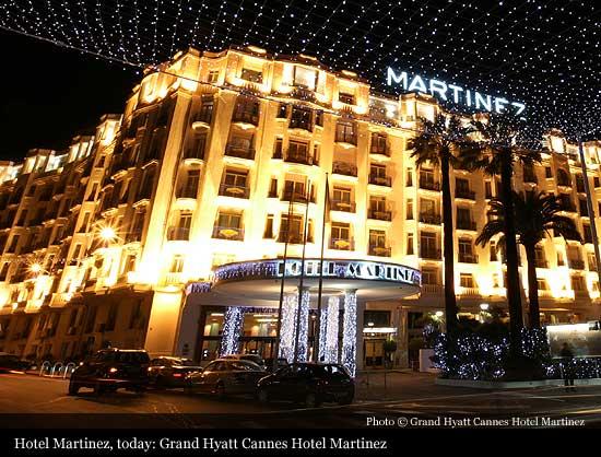 Grand Hyatt Cannes Htel Martinez  Cannes  Historic Hotels