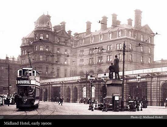 Midland Hotel (1890), Bradford   Historic Hotels of the