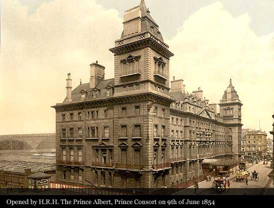 Hilton London Paddington 1854 Historic Hotels Of The World Then Now