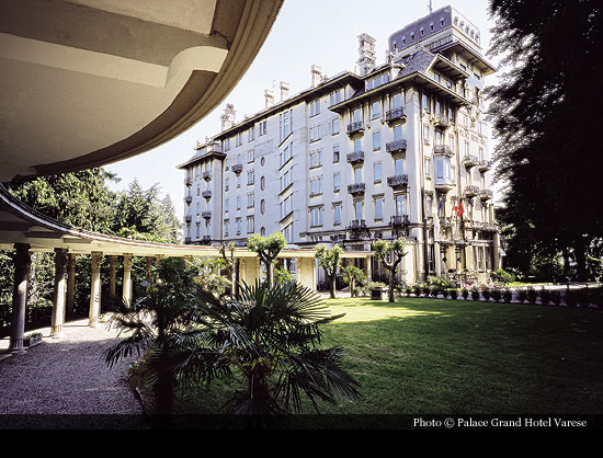 Palace Grand Hotel Varese 1913 Varese Historic Hotels Of The World Then Now