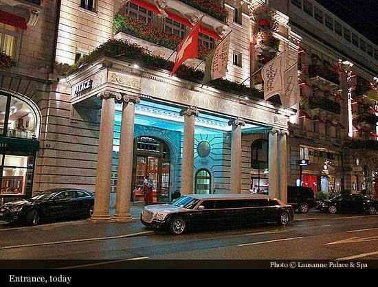 Lausanne palace spa 1915 lausanne historic hotels of the world then now - Salon talon aiguille lausanne ...