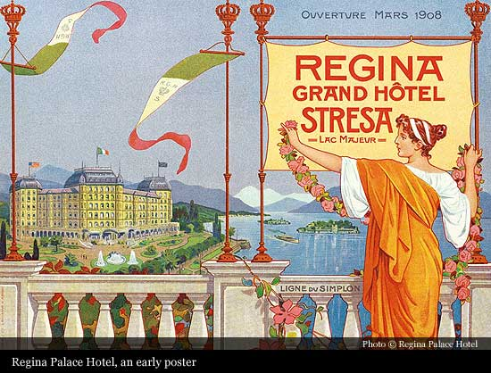 Regina Palace Hotel 1908 Stresa Historic Hotels Of The World Then Now