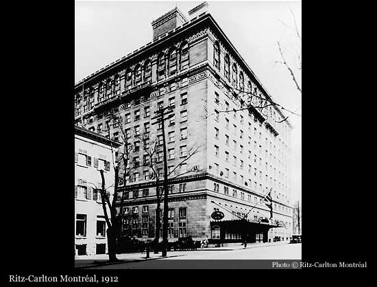 Ritz Carlton Montréal 1912 Historic Hotels Of The World Then Now