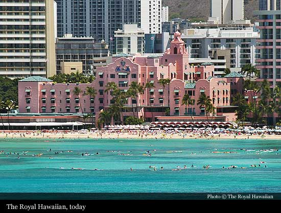 The Royal Hawaiian 1927 Honolulu Historic Hotels Of The World Then Now