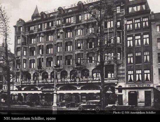 nh amsterdam schiller  1913   amsterdam
