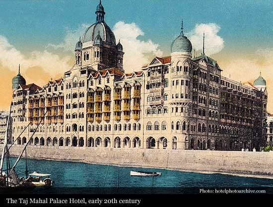 The Taj Mahal Palace 1903 Mumbai Historic Hotels Of